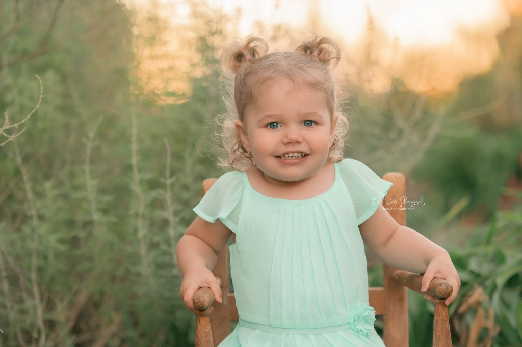 18 month old little sister {ballantyne baby photographer}