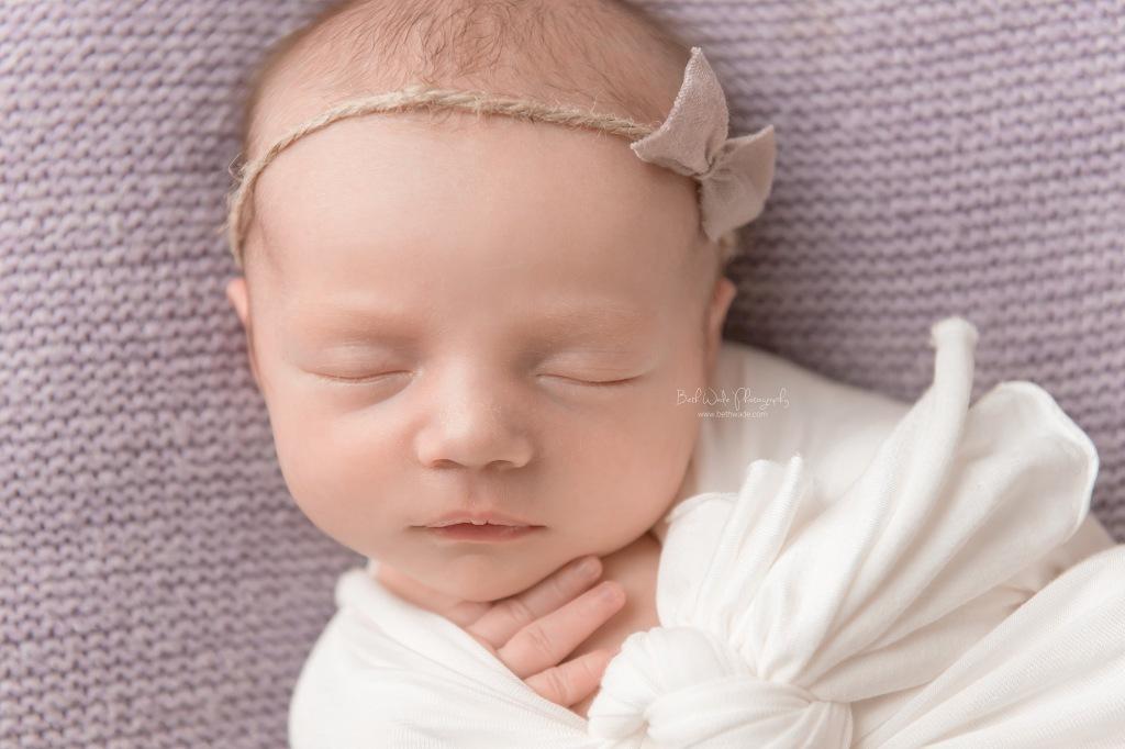 welcome baby girl {plaza midwood new born photographer}