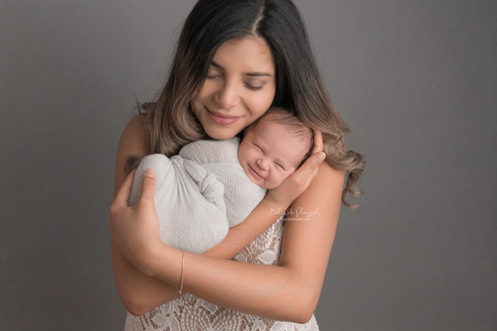 holiday baby girl {belmont new born photographer}