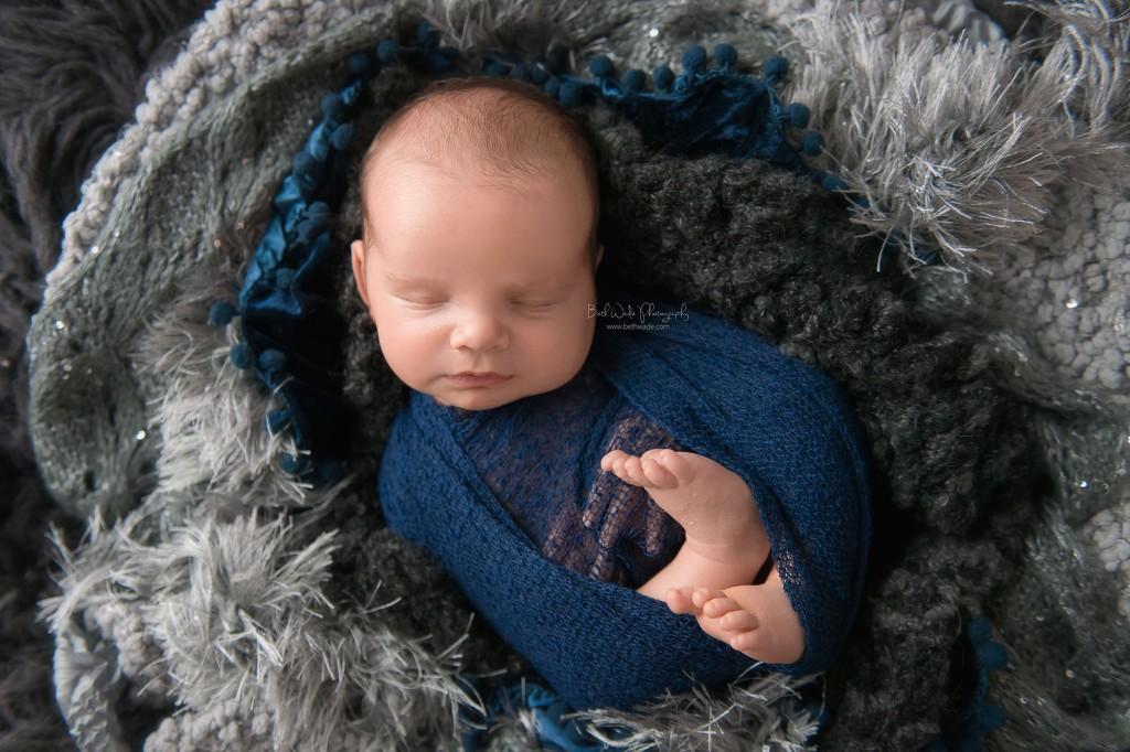 sleepy baby boy {mooresville newborn photography}
