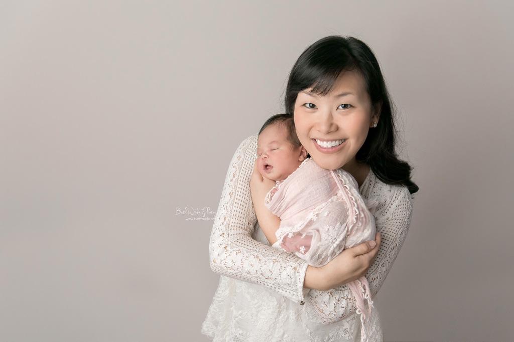 welcome baby sister {matthews newborn photographer}