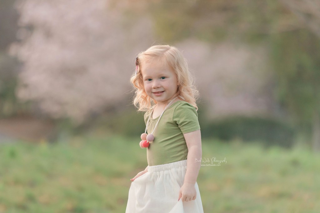 spring blooms session ~ family of 4 {steele creek baby photographer}