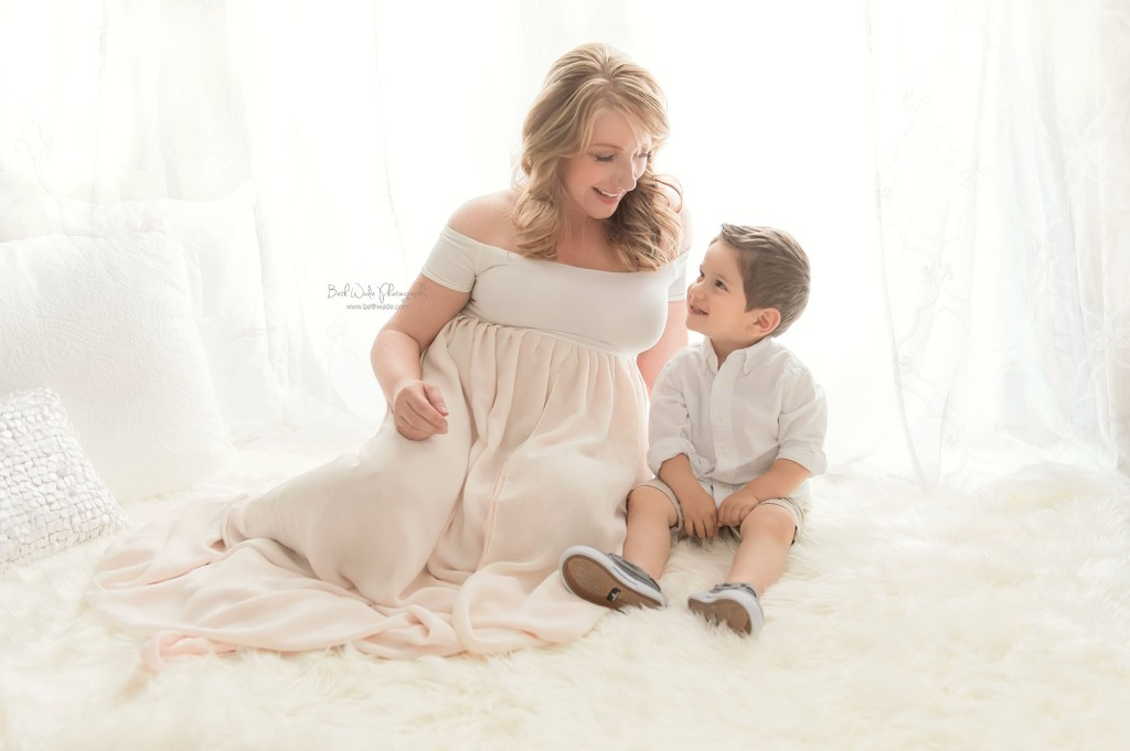 summertime baby girl {fort mill sc maternity photos}