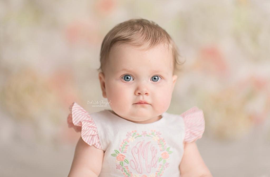 baby girl's first birthday {arboretum baby photographer}