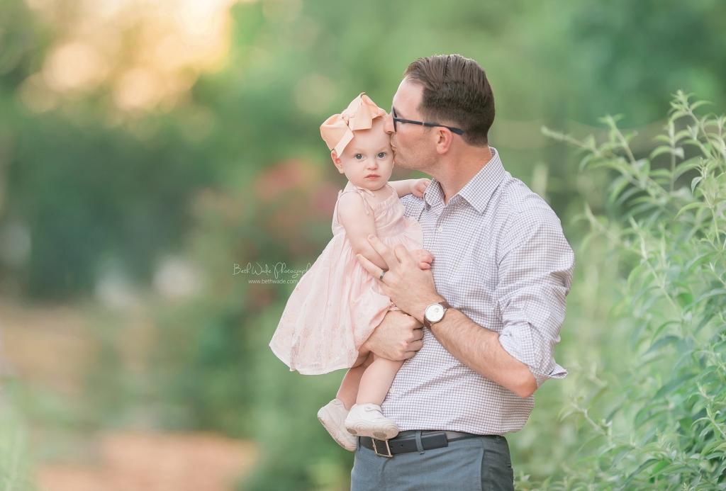 happy 1 year baby girl {huntersville family photography}