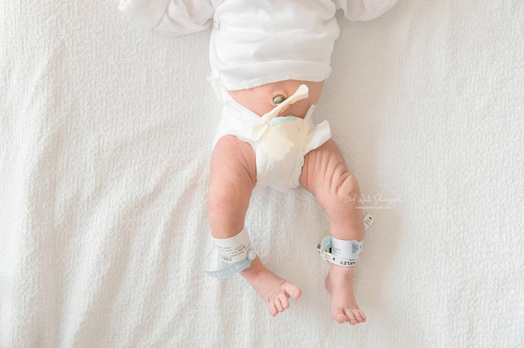 surprise! it's a boy ~ birth-fresh 48 video {davidson newborn}
