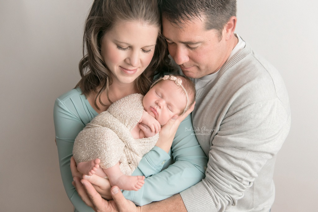 welcome little sister {lake norman newborn photos}