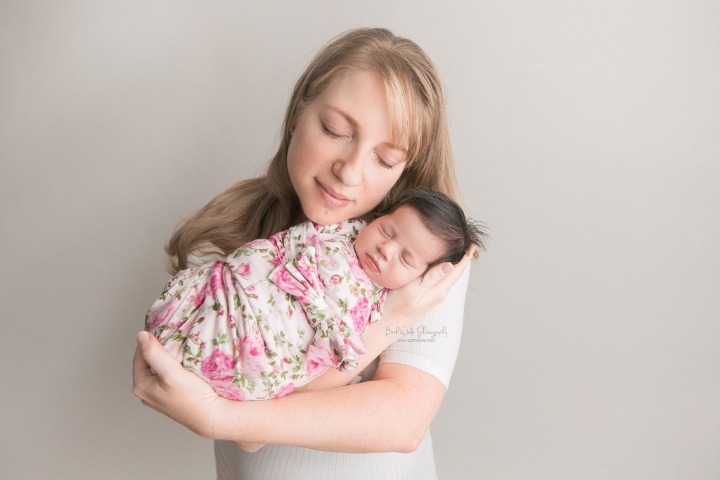 baby sister ~ family of 4 {fort mill newborn photography}